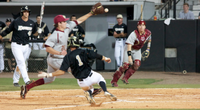 Knights beat Boston College, Lively whiffs career-high 11