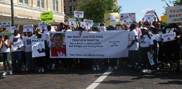 Trayvon Martin cause gains support with rally at city hall