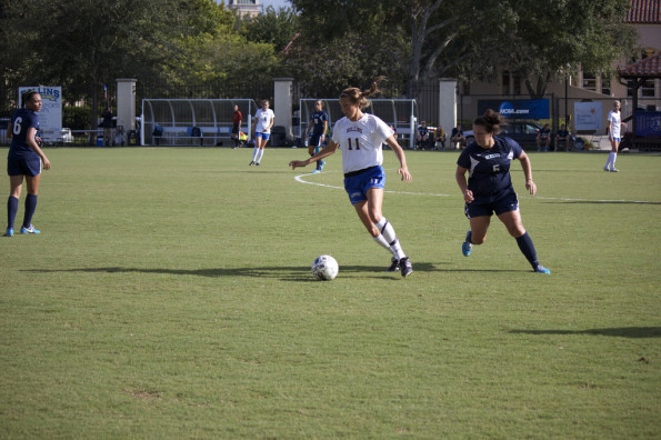 Rollins women's soccer beats Eckerd 6-2 in first home game