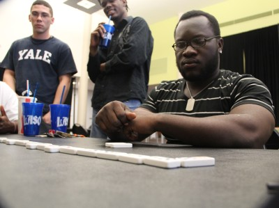 Total domino domination on East, LASO hosts tournament