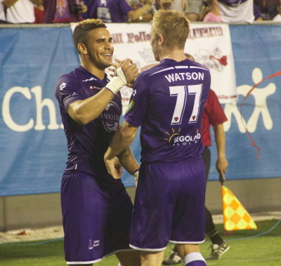Orlando City thrash Antigua Barracuda, Dwyer nets hat-trick