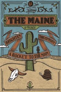 The Maine brings 81 Twenty Three tour to The Beacham tonight