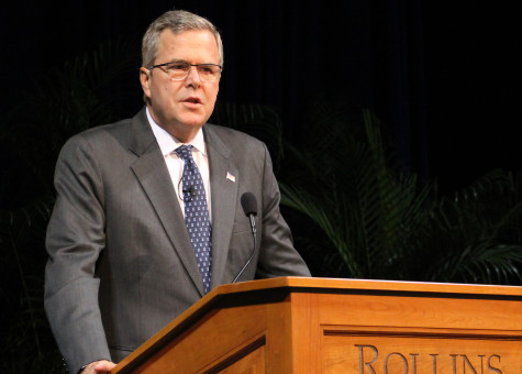 Jeb Bush speaks at Rollins; three steps to a brighter American future