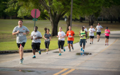 Tornado warnings don't scare participants from annual Alumni Association  5K Run