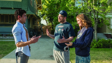 Movie review: Effron, Rogen battle it out for turf in 'Neighbors'