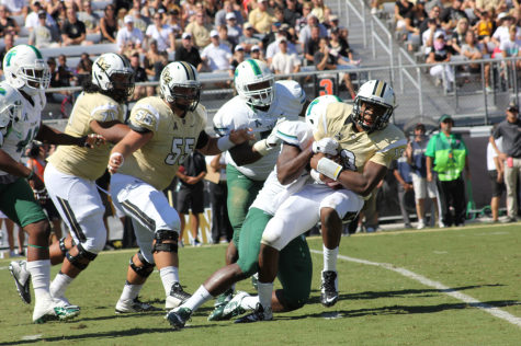UCF survives scare from Tulane