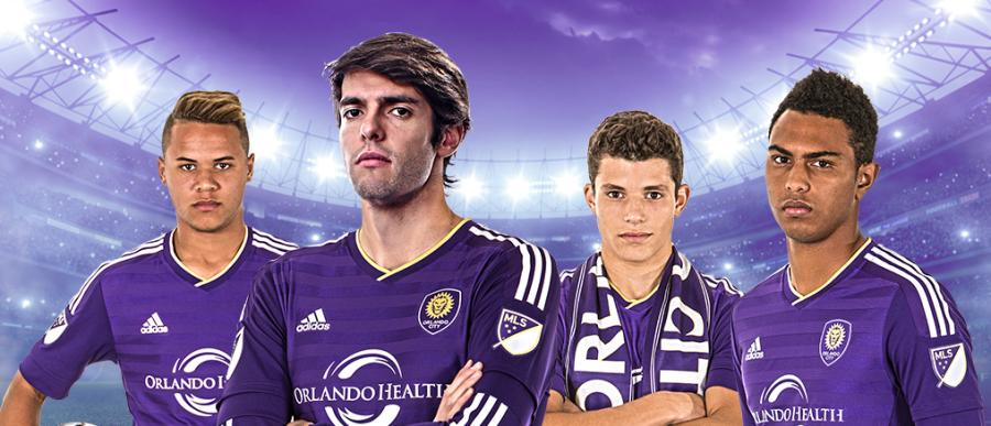 Orlando City Soccer Club unveils new MLS jersey