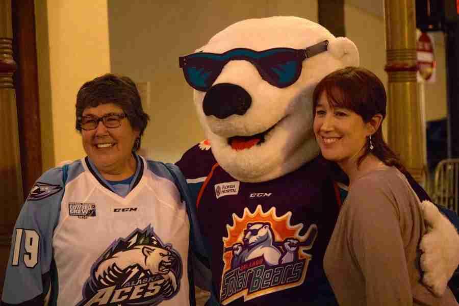 Hockey fans enjoy FanFest before ECHL All-Star Classic