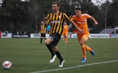 Battery defeat Dynamo in first game of Carolina Challenge Cup