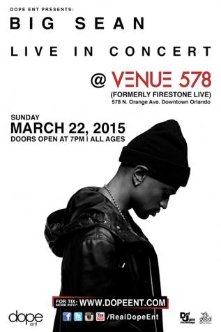 Big Sean's 'Dark Sky Paradise' tour headed to Venue 578