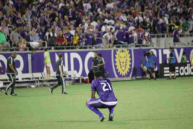 Orlando City fall to Red Bulls as Cyle Larin receives red card