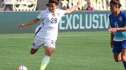 U.S. Women's National Team Defeats Brazil 3-1