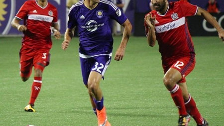 Orlando City play to 1-1 draw despite going up a man against Chicago Fire