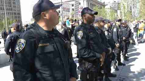 VIDEO: Police presence near RNC has some worried, others feeling safer
