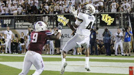 UCF come away with win in Scott Frost debut, get first victory since 2014