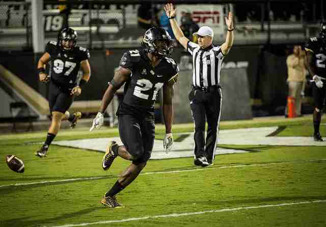 Drico+Johnson+became+the+first+UCF+player+in+program+history+to+score+two+defensive+touchdowns+in+the+Knights+win+over+Tulane.+