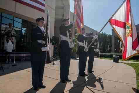 Valencia shows military appreciation for Veterans Day