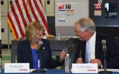 U.S. Secretary of Education Betsy DeVos Visits Valencia