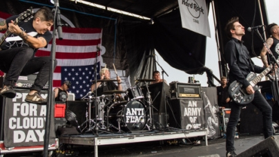 Anti-Flag Drummer, Pat Thetic, Discusses Band's Political Roots