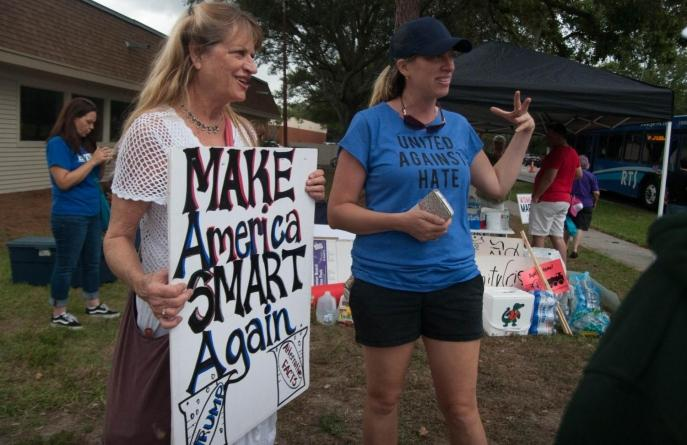 University of Florida Students Rise Up Against Richard Spencer