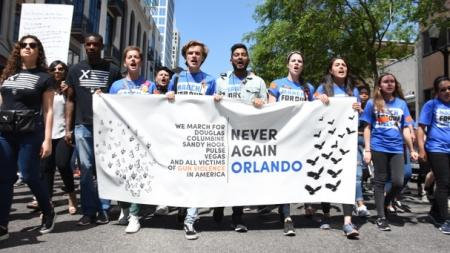 March for Our Lives: Thousands Demonstrate at Lake Eola