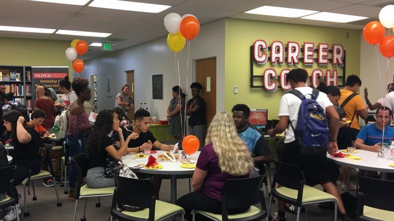 Career Center Open House on East