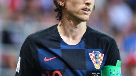 Luka Modric won Best Men's Player of 2018