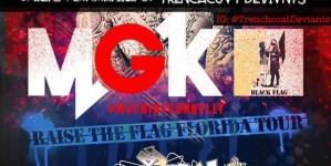 Machine Gun Kelly invades Florida this weekend