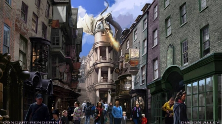 Harry Potter and the Diagon Alley Expansion set for Universal