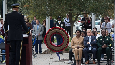 "Valencia host ""Remembering Our Fallen"" traveling photo memorial to honor fallen Florida soldiers"