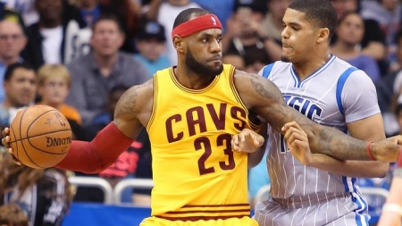 Strong fourth quarter from Lebron James pushes Cleveland Cavaliers past Orlando Magic