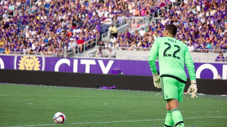 Orlando City goalkeeper Tally Hall makes debut following injury