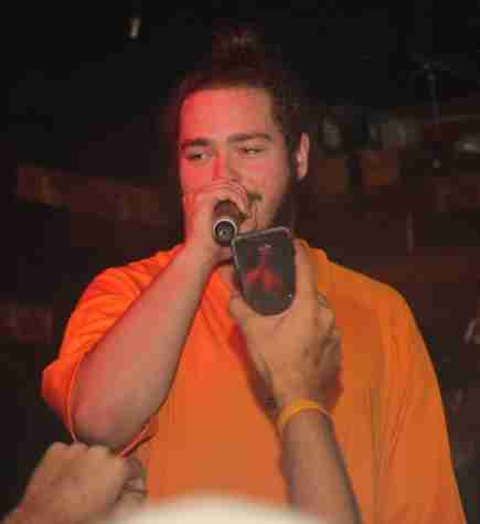 Pictures: Post Malone at BackBooth