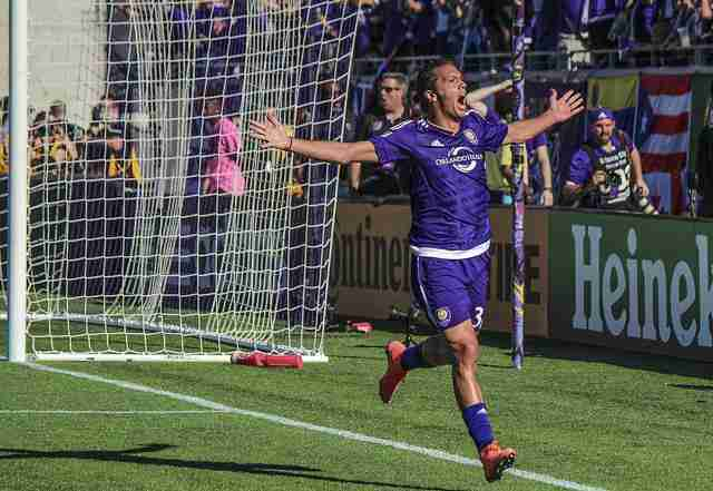 Orlando City use two last-minute goals to salvage point in season opener
