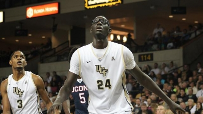 Tacko Fall Leads Knights to Victory on Senior Night