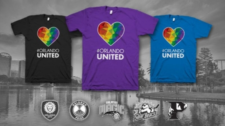 Orlando sports franchises team up for #OrlandoUnited