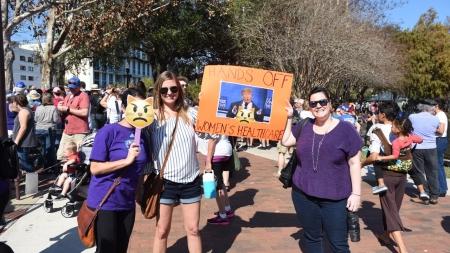 Marchers Take Over Lake Eola in Orlando