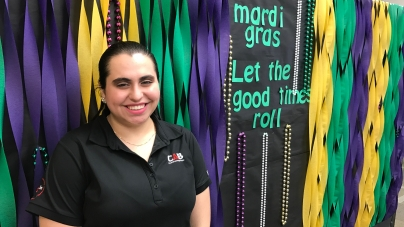 Mardi Gras Celebration Hits East Campus Tuesday