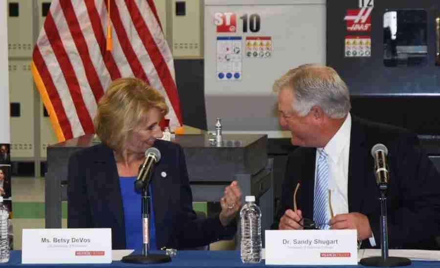 U.S. Secretary of Education Betsy DeVos Visits Valencia