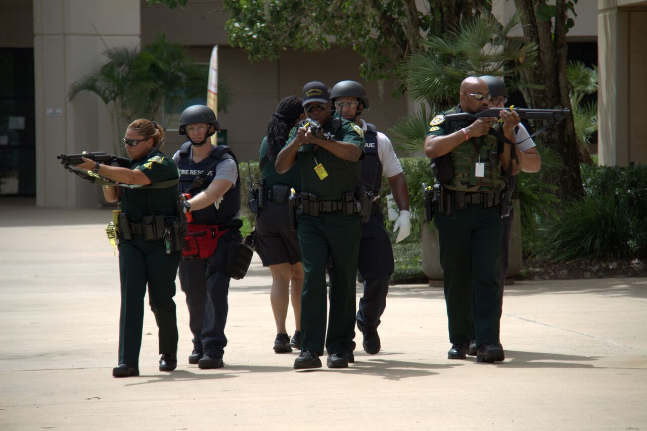 Staged Mass Shooting at Valencia East Campus