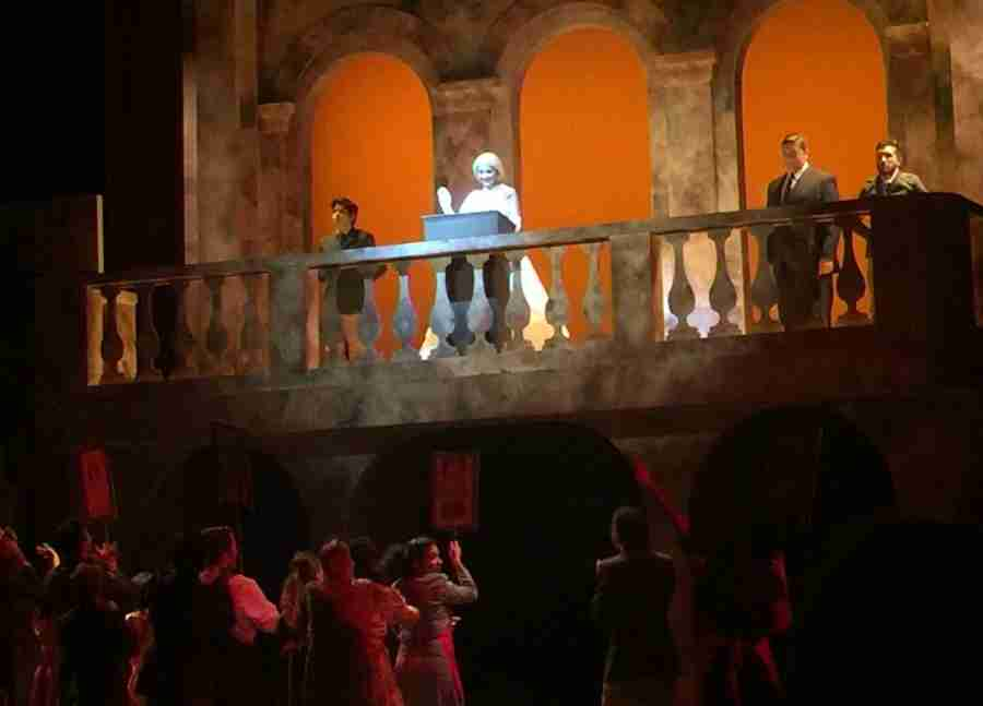 The Musical Evita Wraps Up Sunday on East Campus