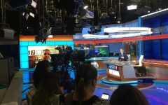 Media Production Class Visits WFTV, Channel 9 News
