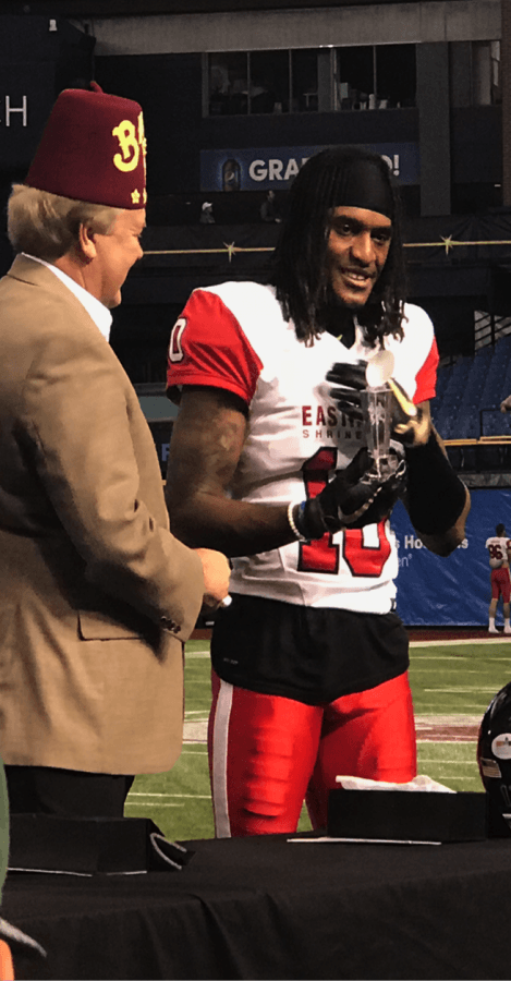 The West Tops the East in Annual Shrine Game