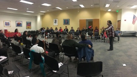 Conversation on Justice Week Kicks Off with Open Mic Event