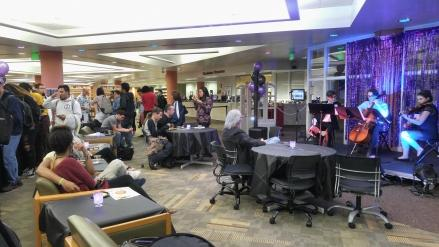 Night at the Library on East Campus