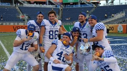 Kentucky Holds On to Win Citrus Bowl