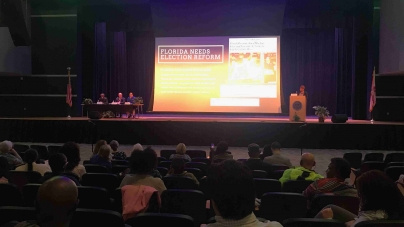 Florida Representatives Meet With Citizens on Election Reform Town Hall